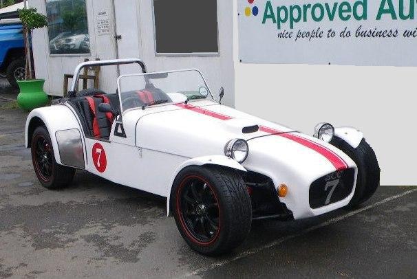 2008 Lotus S7 Rebuild