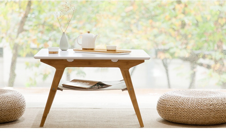 BAMBOO SQUARE COFFEE TABLE