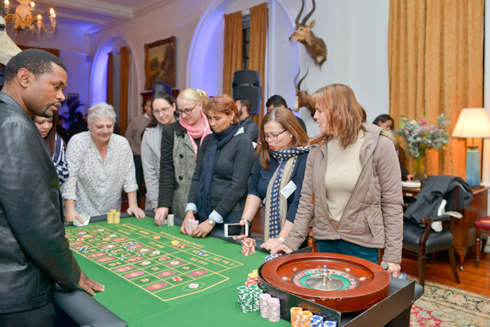 Gaming Events - Fun Casino with real casino tables and dealers but without real gambling
