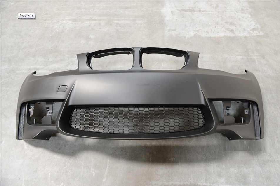 BMW E82/ E87 1 Series M1 BRAND NEW FRONT BUMPERS  FOR SALE PRICE: R6300