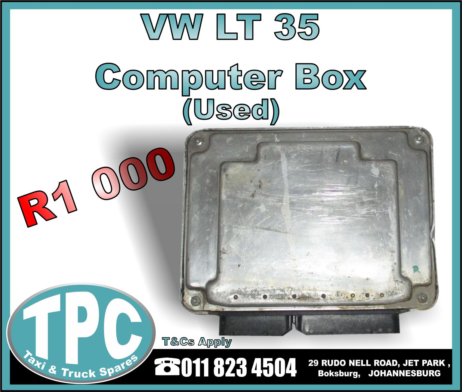 VW Crafter LT 35 Computer Box - Monthly Special - New And Used Replacement Taxi Parts - TPC.