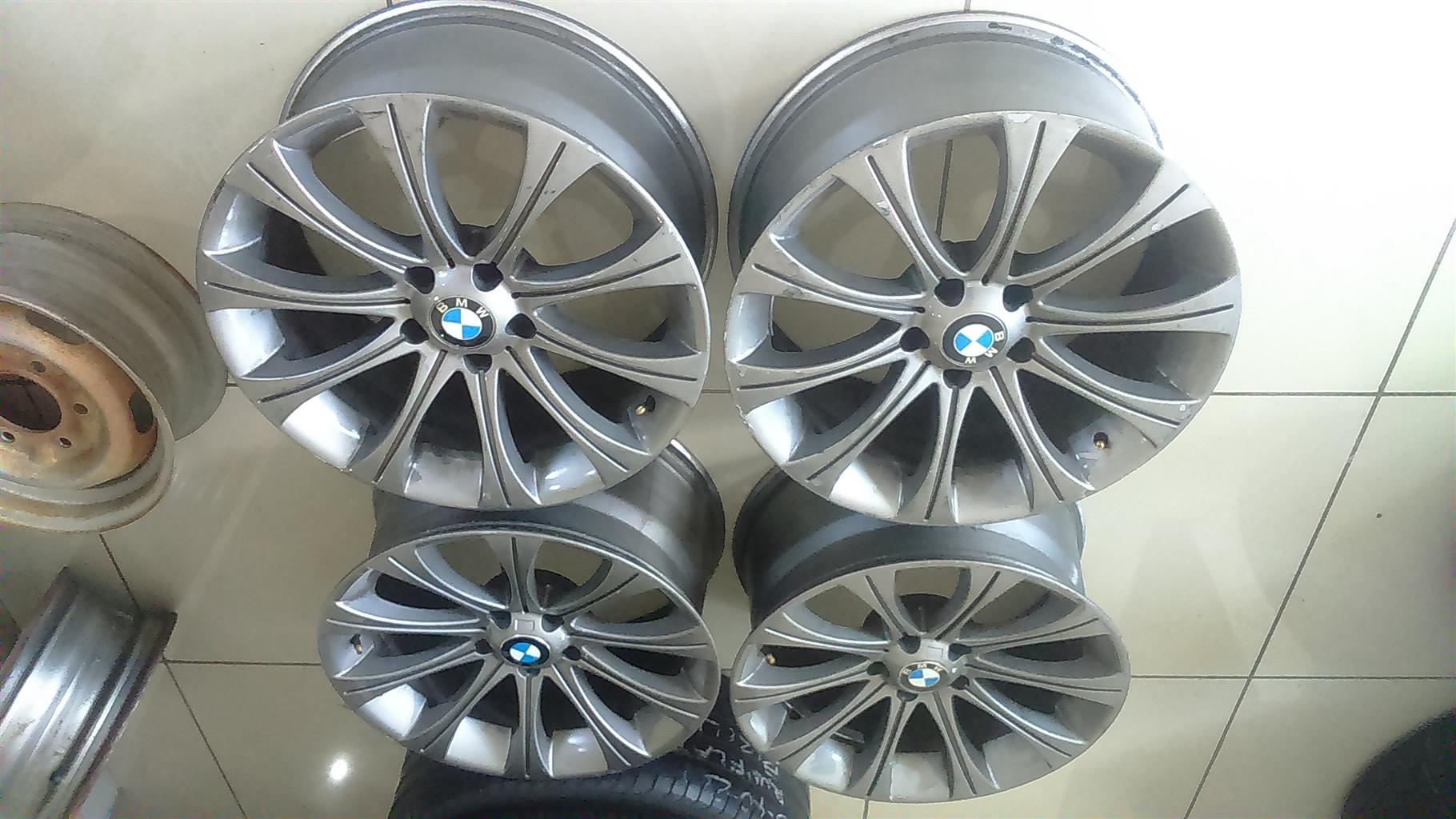 "19""BMW Rims only in Pretoria."