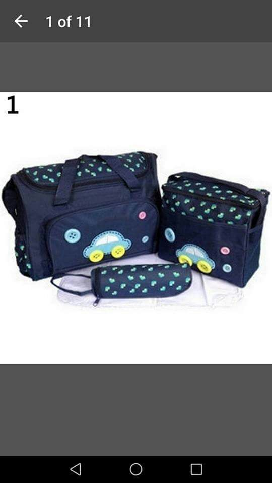 I'm selling baby bags
