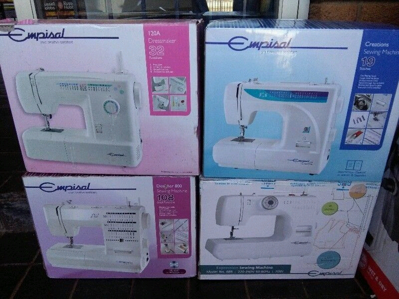 Sewing machines and spares for sale