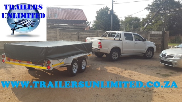 Flat Bed Trailer 3500 x 1500 x 700
