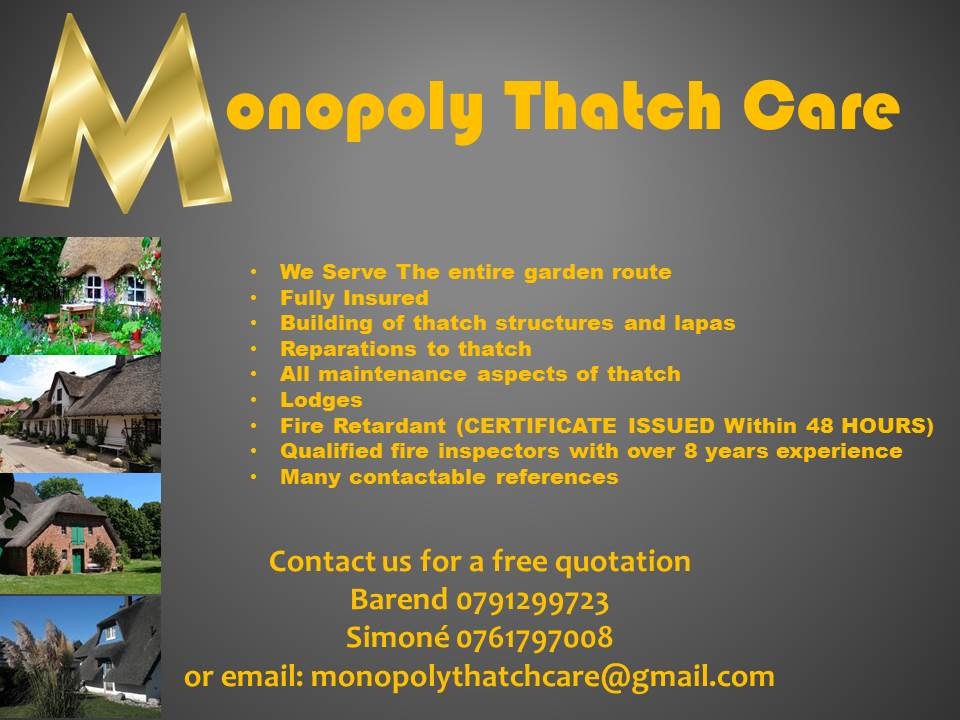 Monopoly thatch care
