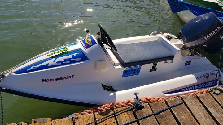 Aquasport Jetski boat with Trailer