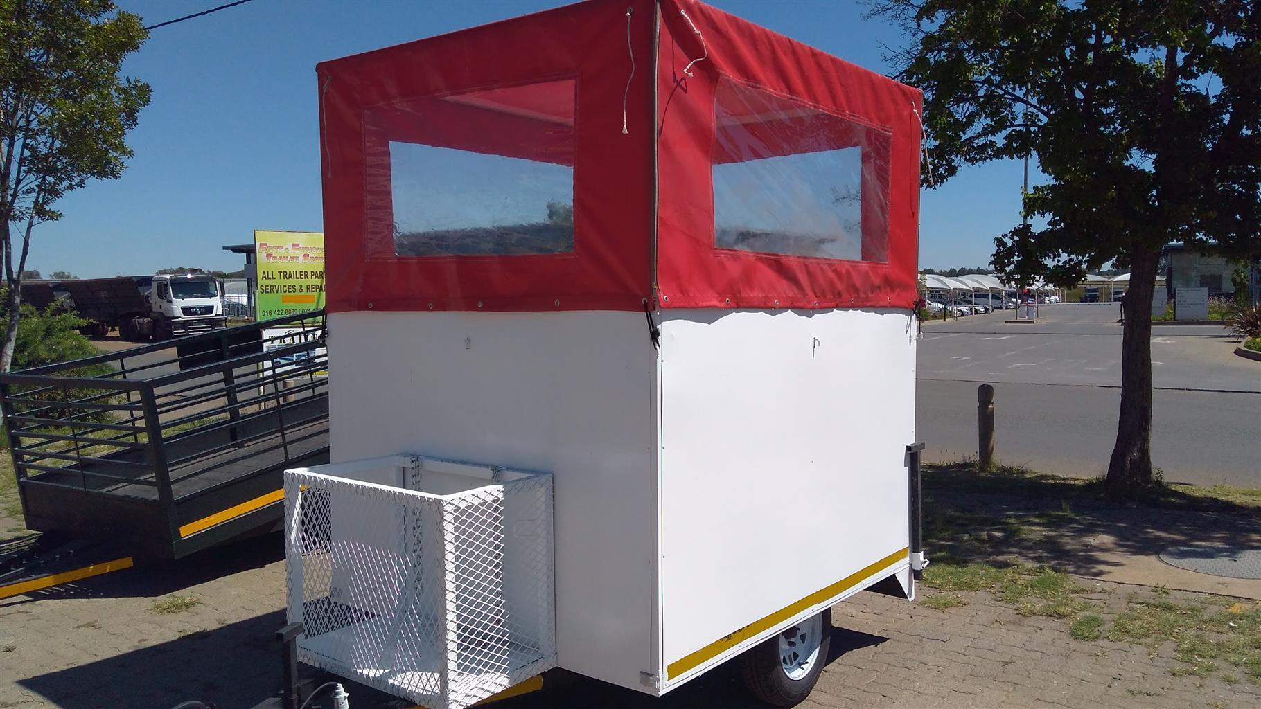 mobile kitchen food trailer