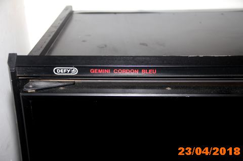 Defy Gemini Cordon Bleu double oven for sale