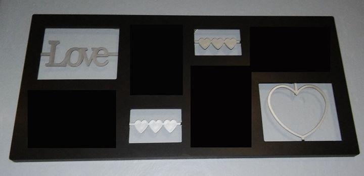 Love photo frame set