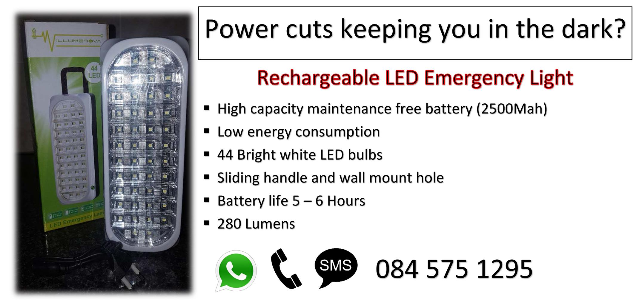 Rechargeable LED Emergency lights