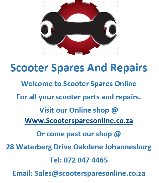 scooter spares and repairs