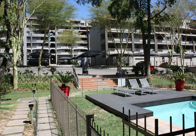 Furnished One bedroom apartment to let in Sandton cbd