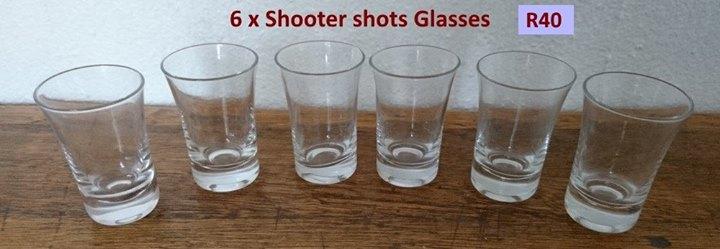 6 Shooter shot glasses