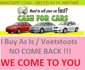 We buy cars and bakkies *** In any Condition WHATSOEVER***