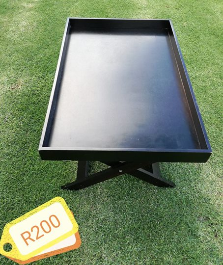 Black serving tray for sale