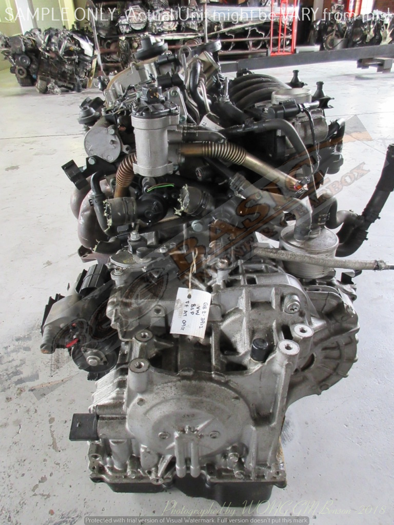 VOLKSWAGEN GOLF 5 -BLP 1.6L FSI 16V Engine (Exclude Gearbox)