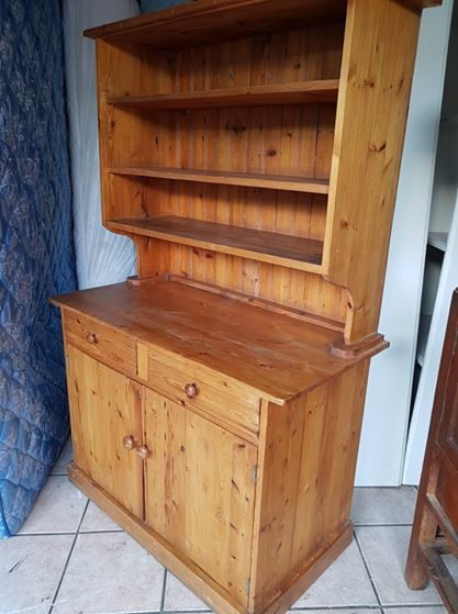 Oregan Pine Cupboard