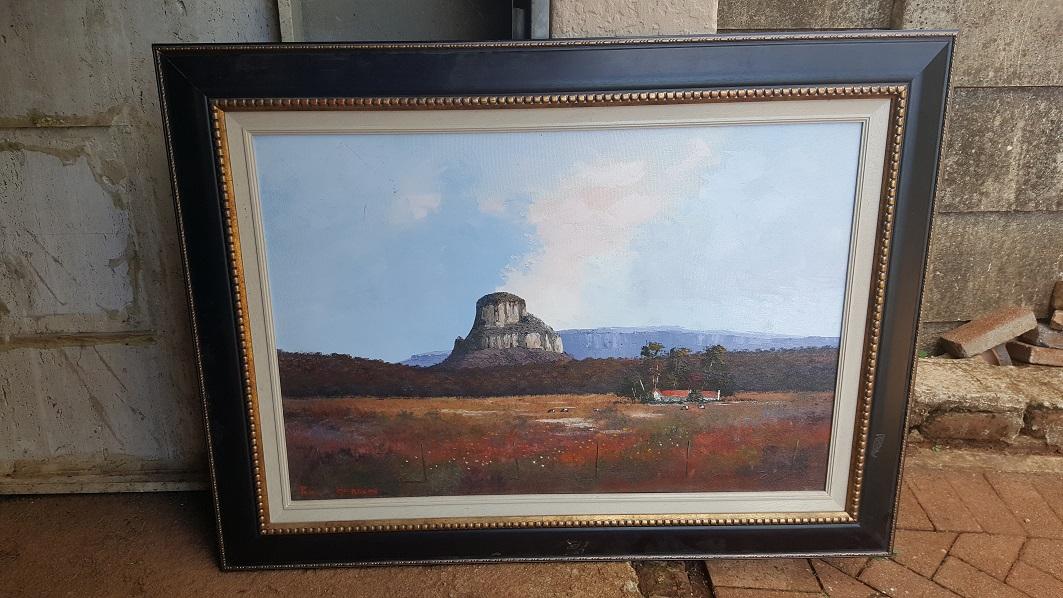 Pieter van Heerden Painting