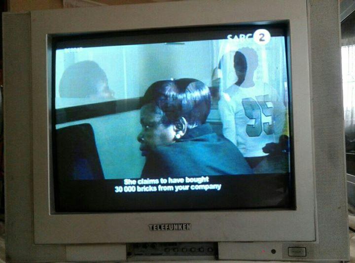Telefunken 54cm tv working condition no remote