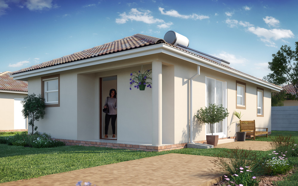 Make this beautiful property your Home today for only R684 900!