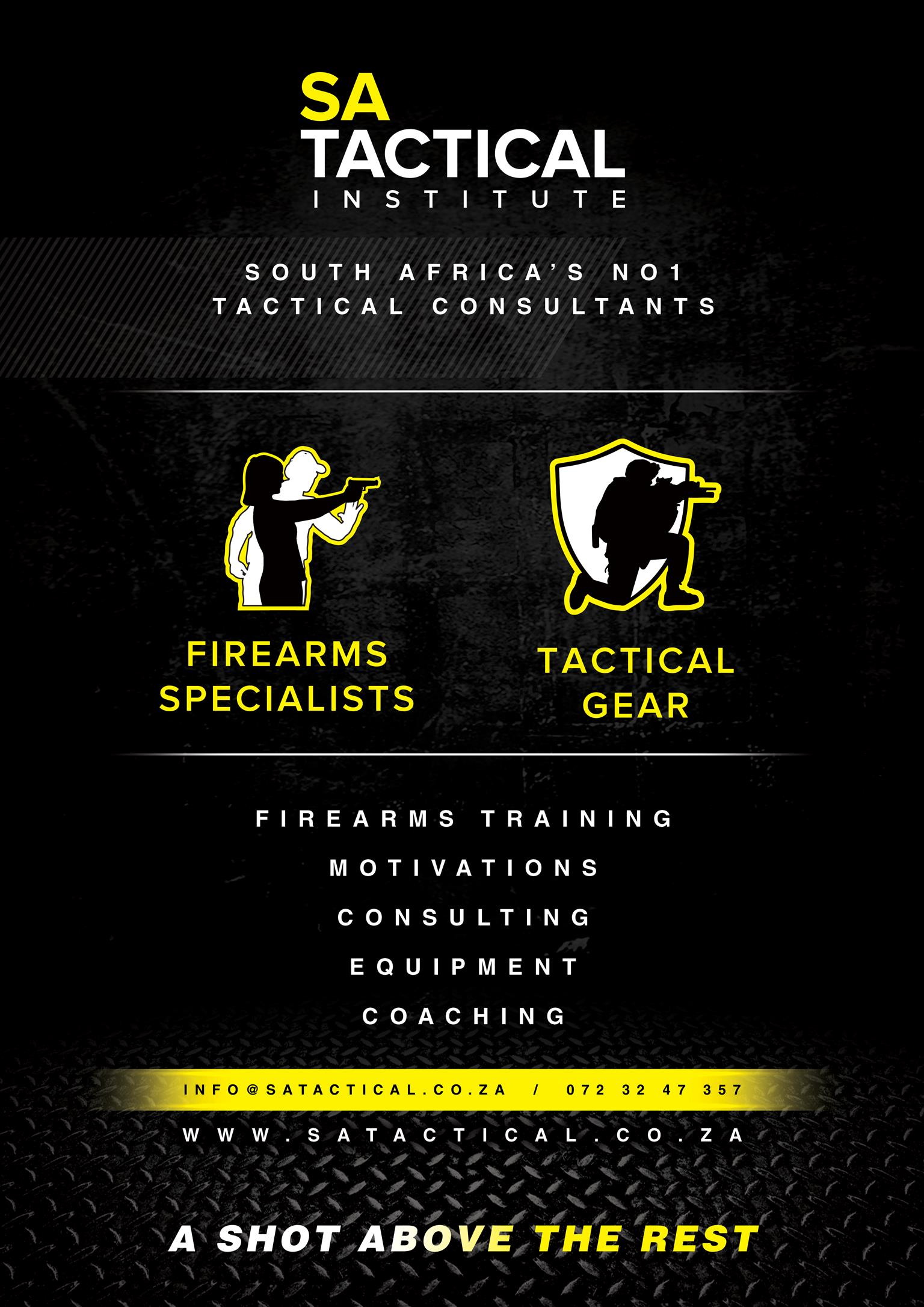FIREARM CONSULTANTS - SA TACTICAL INSTITUTE