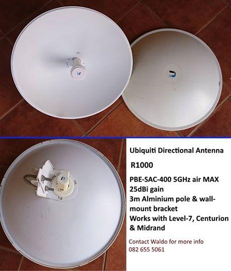 Ubiquiti directional antenna