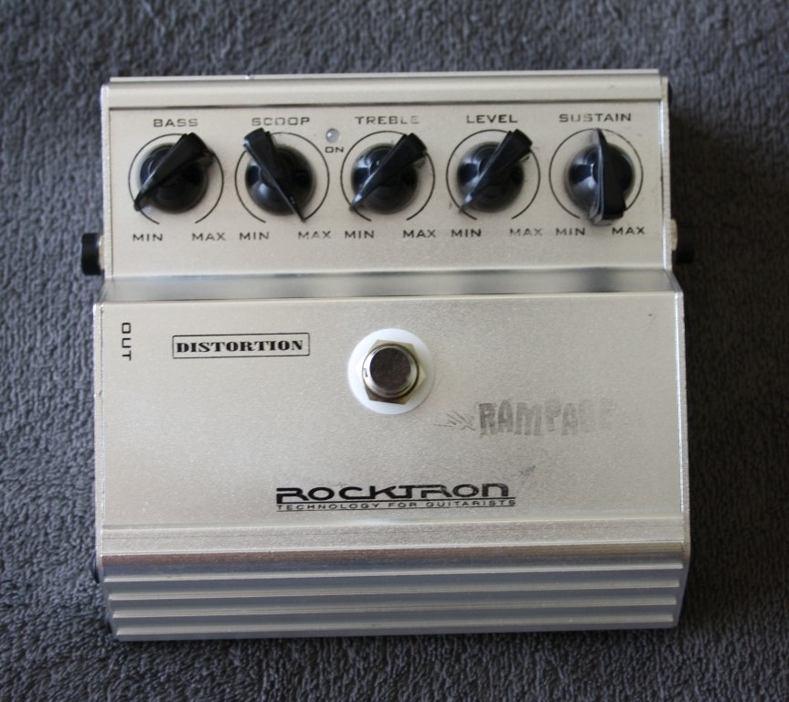 Rocktron Rampage Distortion Guitar Effects Pedal