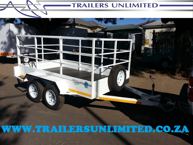 TRAILERS UNLIMITED DOUBLE AXLE UTILITY TRAILERS TO YOUR SPECS.