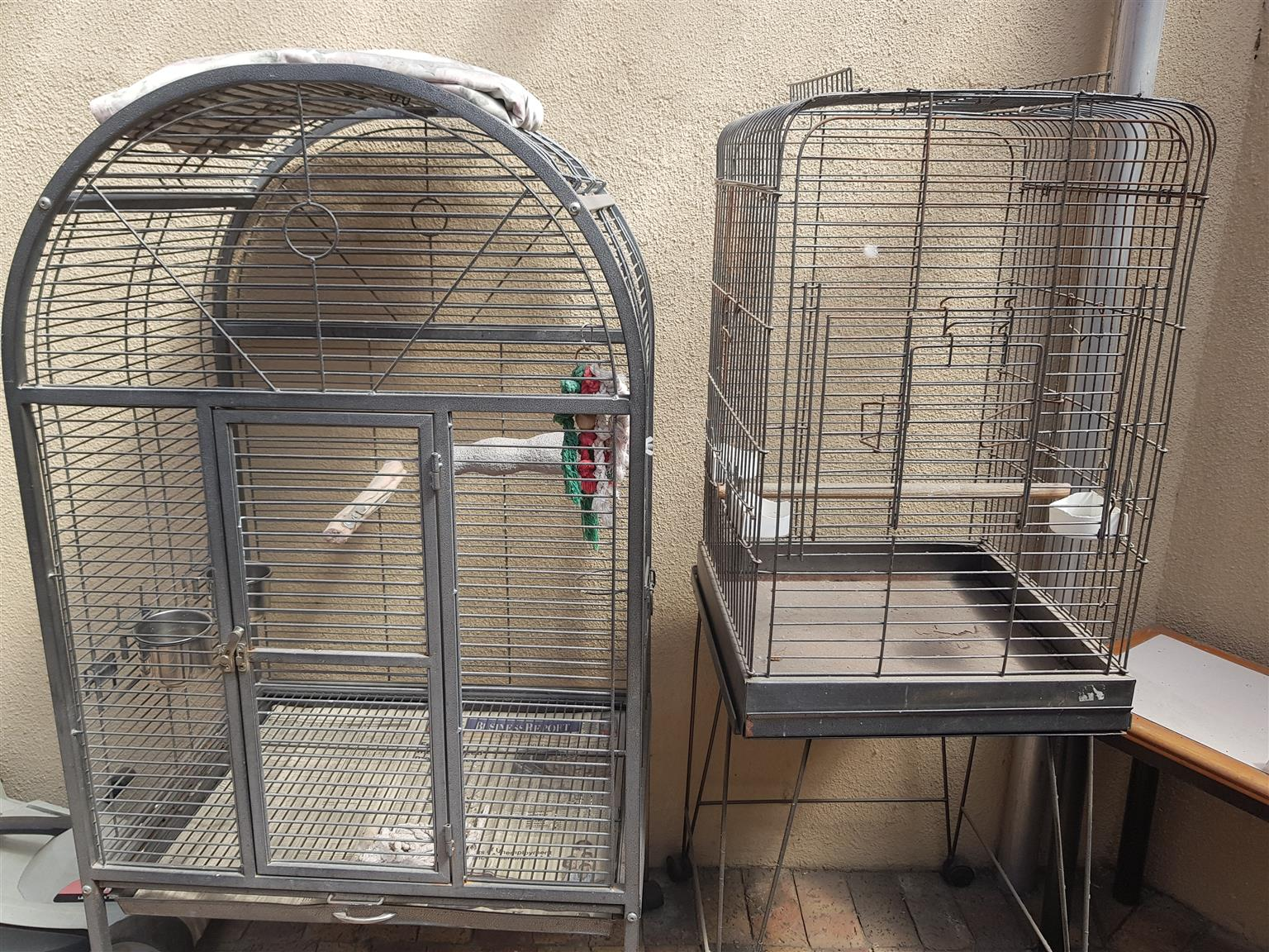 African Grey Cages x 2