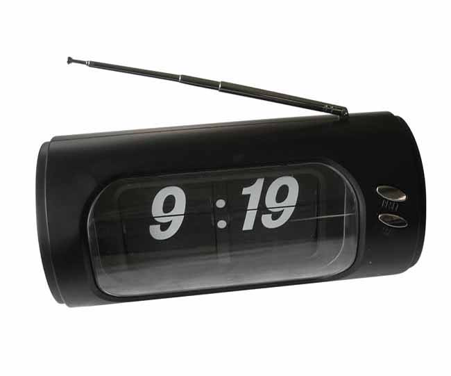Black digital desk clock with radio!! On Promotion!!!