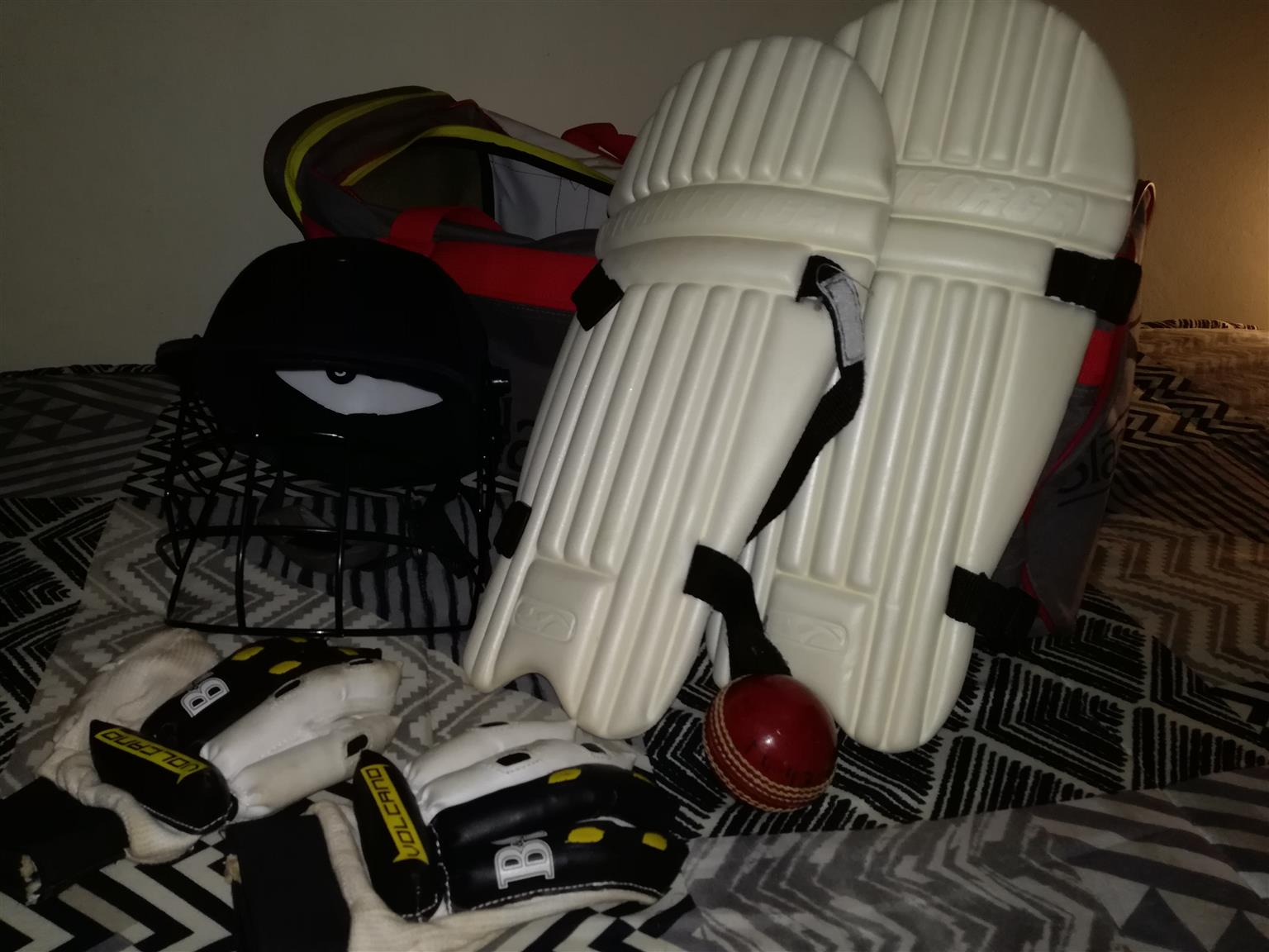 Cricket set for a child