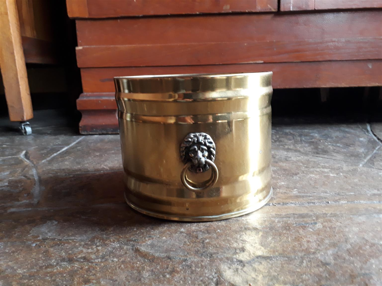 Golden Lion tin