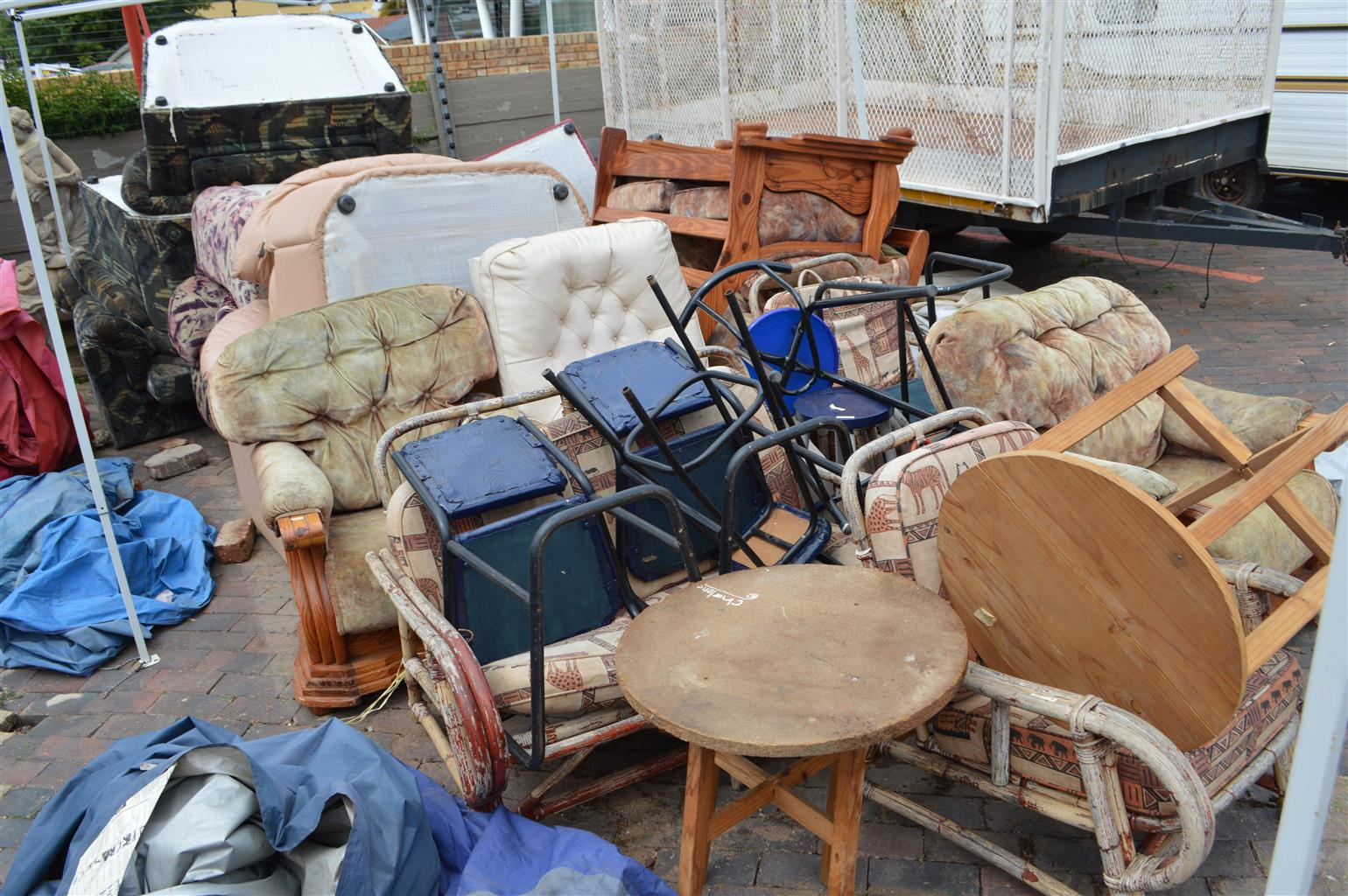 Assorted Furniture For Sale As A Bulk Load