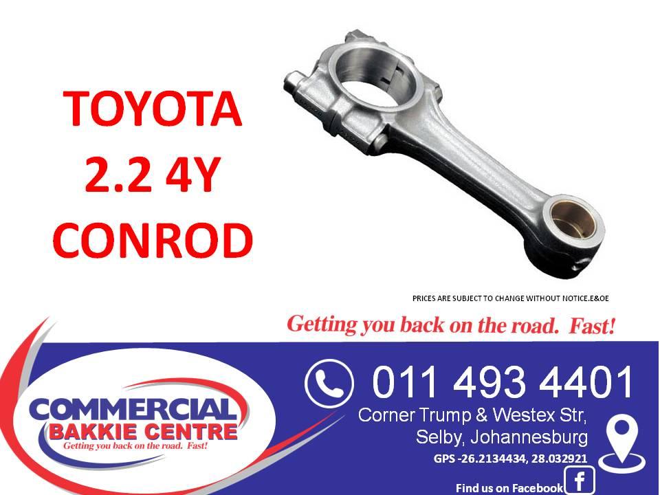toyota 2.2 4y conrod new