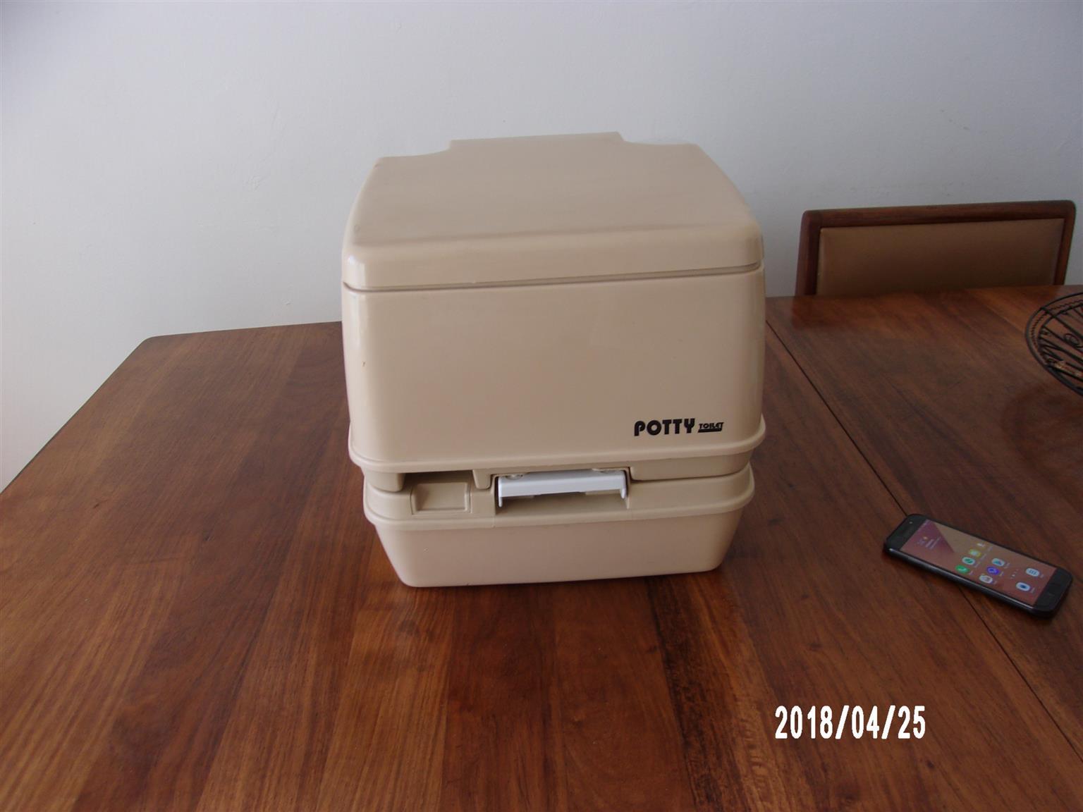 Portable Potty for tents/caravans