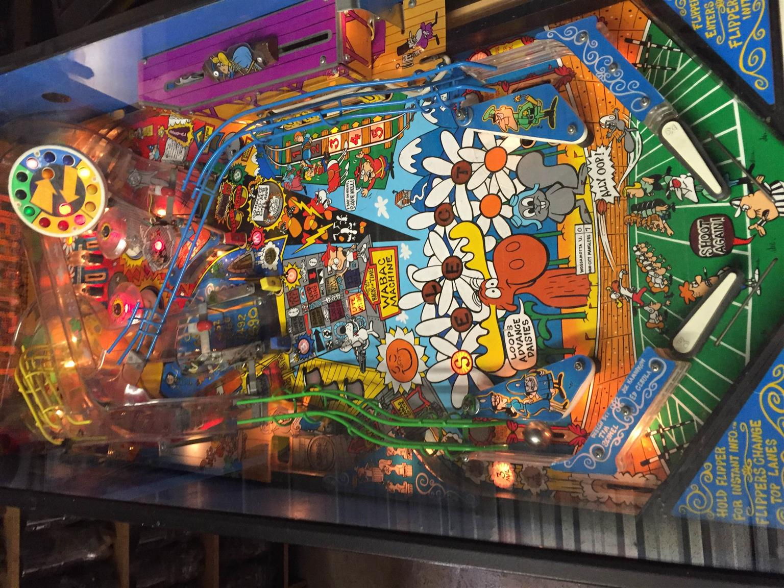 Rocky Bullwinkle & Friends Pinball Machine