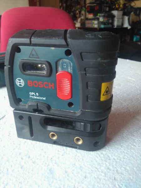 BOSCH GPL 5 POINT LASER *USED/GOOD CONDITION*