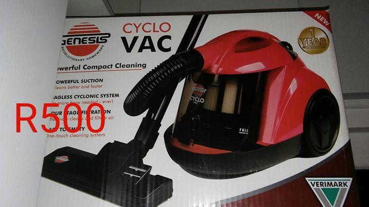 Genesis cyclone vacuum cleaner