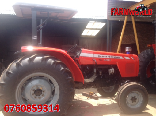 S2804 Red Massey Ferguson (MF) 440 61kW/80Hp 4x4 Pre-Owned Tractor