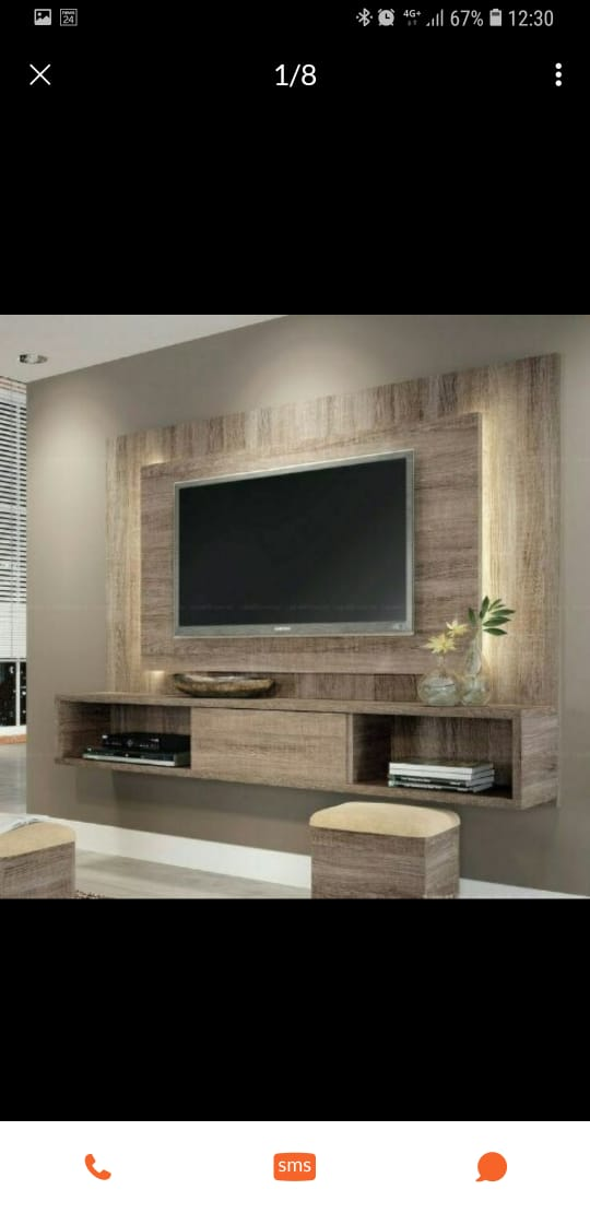 Mounted TV wall unit | Junk Mail
