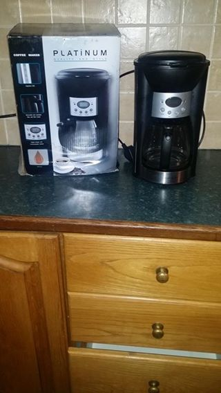 Platinum coffee maker