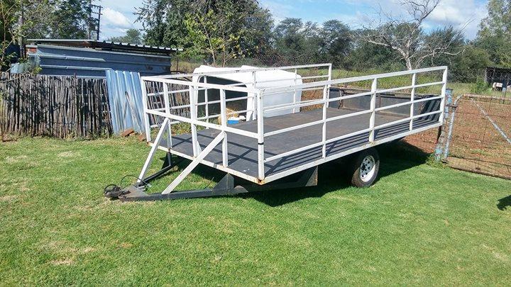 4×2 meter trailer te koop