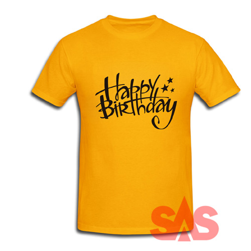 T-Shirt with the Birthday Wish