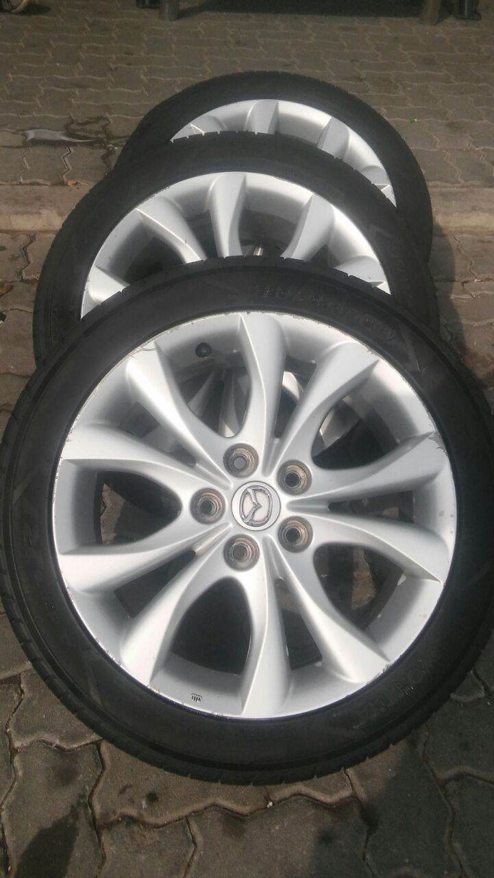 Mazda mags and tyres 17inch (set)