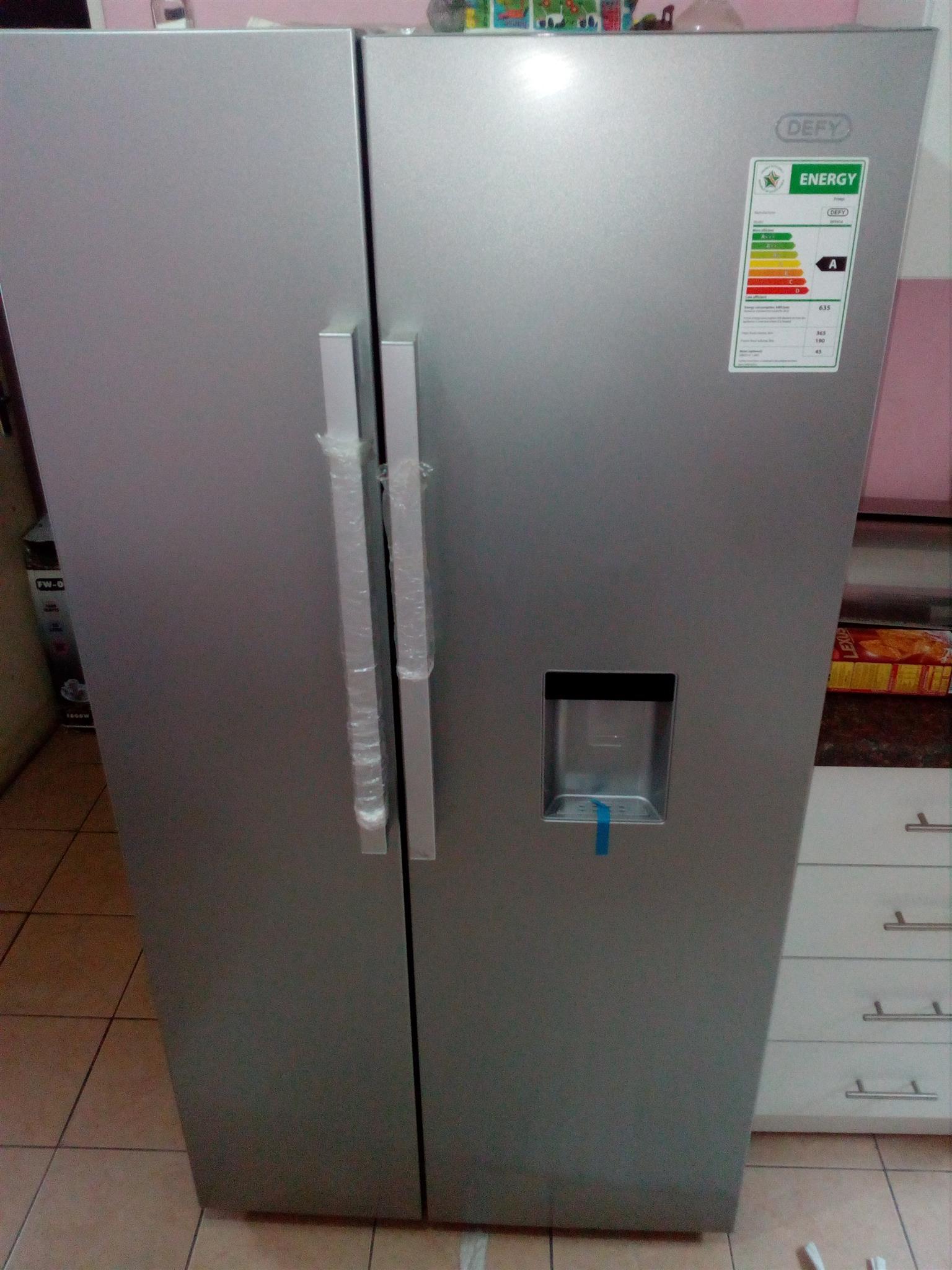 Defy Double Door Fridge   Side By Side Fridge And Freezer.