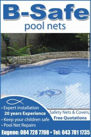 POOL NETS, LEAF CATCHERS AND COVERS