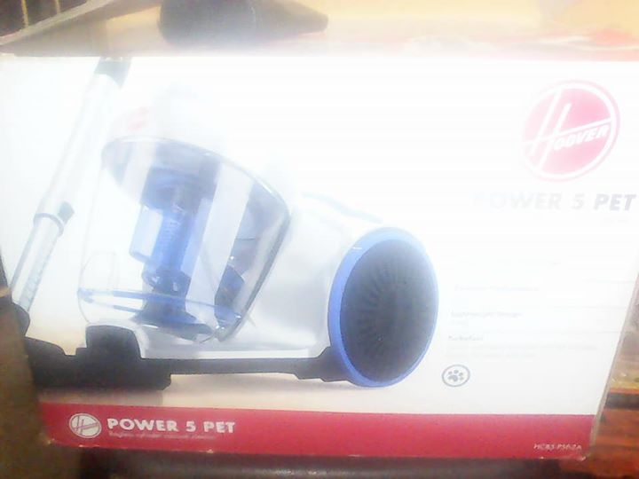 Hoover power 5 pet bagless cylinder vacuum cleaner for sale