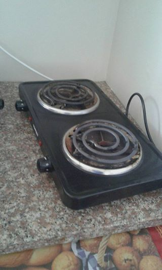 2 plate stove