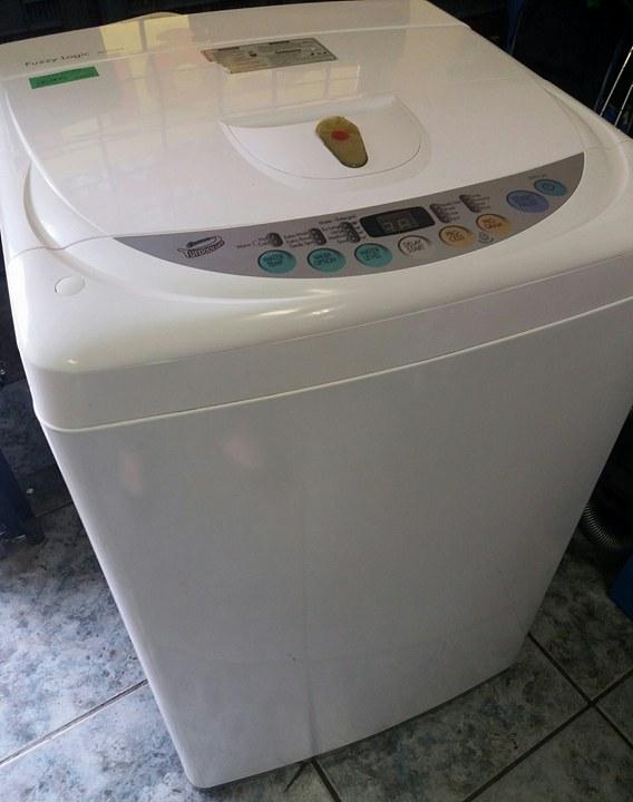 LG Washing Machine Fuzzy Logic